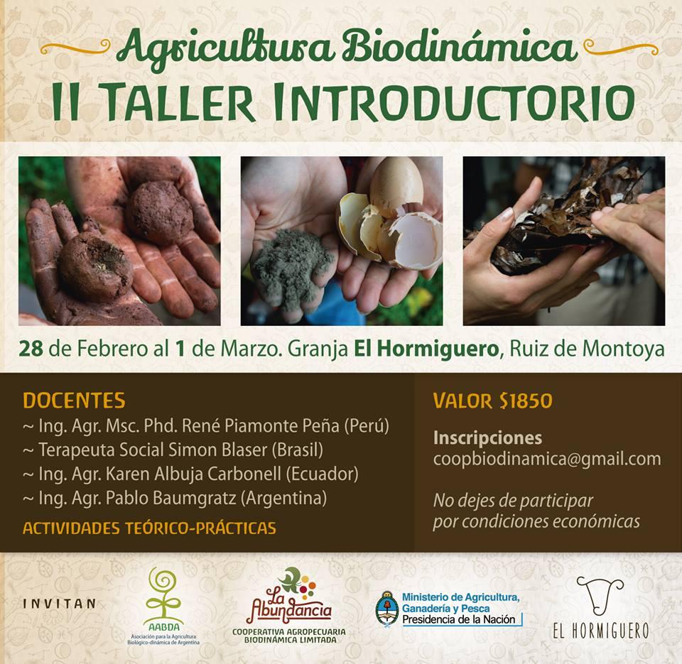 2do Taller introductorio en El Hormiguero